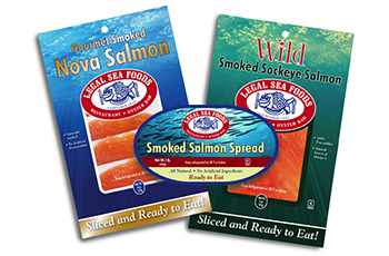 Legal Seafoods Packaging